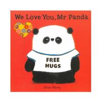 【麥克兒童外文】We Love You  Mr Panda