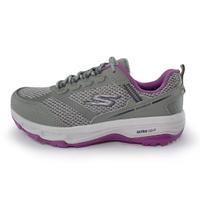 SKECHERS【128200WGYPR】GO RUN TR ALTITUDE 慢跑鞋 越野慢跑 防潑水 寬楦 灰紫 女