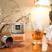 【samova 歐洲時尚茶飲】有機博士茶/無咖啡因/Orange Safari橙色非洲(Tea Tin系列)