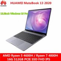 HUAWEI MateBook 13 2020แล็ปท็อปRyzen 5 4600H/Ryzen 7 4800H 16G 512GB PCIE SSD FHD IPS Ultrabook