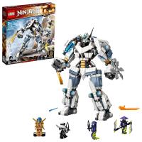 【LEGO 樂高】旋風忍者系列 冰忍的鈦機械人之戰 71738 忍者 機械(71738)