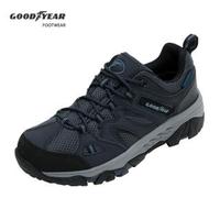 【GOODYEAR 固特異】M2-登山健行鞋/男 戶外郊山 防水 耐磨 深藍(森林之王GAMO03506)