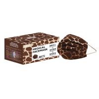 萊潔 醫療防護成人口罩-長頸鹿紋(50入/盒裝)(衛生用品,恕不退貨,無法接受者勿下單)