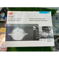 [全新公司現貨] 3M VFlex™ N95 經濟型拋棄式防塵口罩/顆粒式防護口罩/9105/單片售/n95口罩