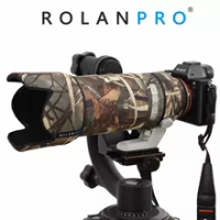 ROLANPRO Camouflage Coat Rain Cover for Sony FE 70-200mm f/2.8 GM OSS Lens Protective Case For Sony SLR camera Telephoto Lens