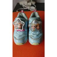 二手 moonstar 冰雪情緣 童鞋 電燈鞋 16cm