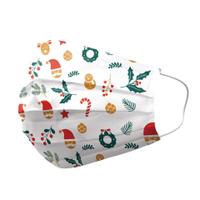 優美特 聖誕限定 醫用口罩 雙鋼印 成人25入/盒【全月刷卡累積滿$3000賺5%回饋】