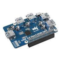 【莓亞科技】樹莓派USB 3.2 HUB擴充模組(4埠, 含稅現貨NT$638)