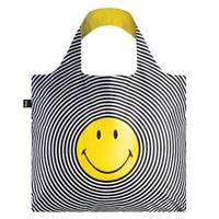 【LOQI】笑臉 SMSP(購物袋.環保袋.收納.春捲包)