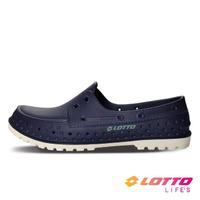 【LOTTO】男 經典帆船洞洞鞋(藍-LT1AMS3526)