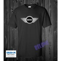图案定制Morris Mini Cooper Logo运动男士纯棉T恤圣诞礼物