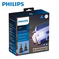 PHILIPS 飛利浦Ultinon Pro9000 LED超亮鑽光頭燈兩入裝(公司貨) +250%-限量贈T10小燈