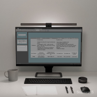 熒幕掛燈 明基WiT ScreenBar Halo智能閱讀屏幕掛燈書桌辦公護眼LED檯燈