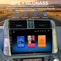"""Android 8.0 PX5 Car 1 din Radio For Toyota Prado 150 Multimedia 2010 2011 2012 with 9"""" IPS Support JBL Amplifier MP4 Buit-in DSP"""