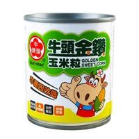 【Bull head 牛頭牌】金鑽玉米粒185g(X)