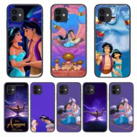 Aladdin Style Phone Case cover For iphone 12 pro max 11 8 7 6 s XR PLUS X XS SE 2020 mini black cell shell