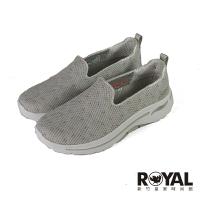 Skechers Arch Fit 可機洗 米色 網布 娃娃鞋 女款NO.J0760【新竹皇家 124477TPMT】