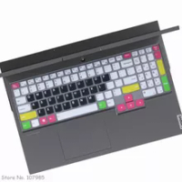 """Soft Silicone Laptop keyboard Cover Protector Skin For Lenovo IdeaPad Gaming 3 3i 15"""" AMD gaming laptop 15.6 inch 2020 Notebook"""