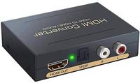 【日本代購】hdmi 音頻 分離器 光數顯 模擬 音頻分離 4K*2K@30Hz 影像 音頻對應 SPDIF 輸出 立體聲 黑色