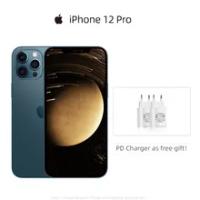 """ใช้ปลดล็อก Apple iPhone 12 Pro 5G สมาร์ทโฟน6.1 """"XDR จอแสดงผล A14ชิปเซ็ต12MP Triple กล้อง Face ID IOS 14โทรศัพท์มือถือ"""