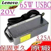 LENOVO 65W TYPE-C (原廠)-IBM 聯想 USB C,20V,3.25A,ThinkPad T14,T14S,T15,T15S,X13,L13,L14,L15,E15,E14,P15S,P43S,USBC,20V/3.25A,15V/3A,9V/2A,5V/2A,ADLX65YAC3A