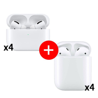 Apple AirPods 2 + AirPods Pro 超值四入組