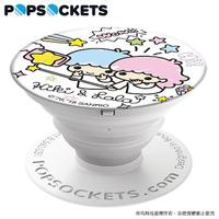 【PopSockets 泡泡騷】美國 No.1 時尚手機支架-雙子星-甜蜜回憶