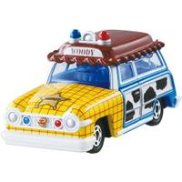 【Fun心玩】DM-19 DS87283 麗嬰 TOMICA Disney 玩總 胡迪 旅行車 迪士尼 玩具總動員