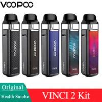 Original VOOPOO VINCI 2 Pod ชุด50W Pod ชุด1500mA แบตเตอรี่ & 6.5Ml ตลับหมึก PnP Coil MTL RDL อิเล็กทรอนิกส์บุหรี่ Vape