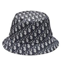 【Dior 迪奧】經典TEDDY-D系列品牌LOGO雙面漁夫帽(藍95TDD923A130_C563)