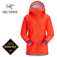 【ARCTERYX 始祖鳥 加拿大】Beta LT 透氣防水外套 風雨衣 防水夾克 女款 曙光紅 (L07064400)