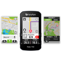 Bryton Rider750E/T 中文GPS自行車訓練記錄器/碼錶-崇越單車