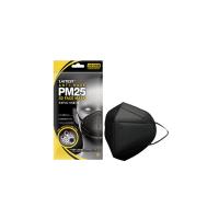 萊潔 PM2.5防霾成人口罩-曜石黑(2片入/袋裝)