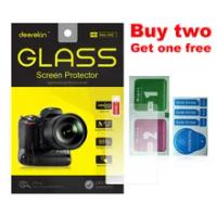 Deerekin 9H Tempered Glass LCD Screen Protector for Canon EOS M6 M6 Mark II / M50 Mark II (EOS Kiss M M2) Mirrorless Camera
