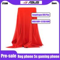 Pre-ขาย ASUS ROG โทรศัพท์5S 5G สมาร์ทโฟน18GB 512GB Snapdragon 888 Plus 6000MAh 65W Fast Charging ROG5 Professional Gaming โทรศัพท์