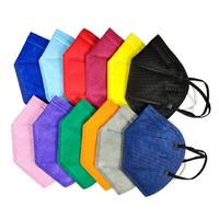 KN95立體口罩-彩色(10入) KN95標準一般一次性衛生口罩 防空汙口罩工作口罩 成人口罩 贈品禮品