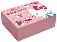 19082800013 收納化妝鏡盒-KT45th享樂生活桃 凱蒂貓kitty 小物收納 鏡台 置物盒 收納盒 化妝鏡 鏡盒 化妝箱 真愛日本