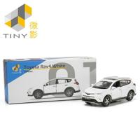 [Tiny] Toyota Rav4 Super White TW01模型車