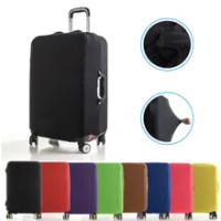 กระเป๋าเดินทางป้องกันฝุ่นกระเป๋าเดินทางสำหรับ 18-28 นิ้วรถเข็นปกคลุมฝุ่นอุปกรณ์เสริมสีทึบ