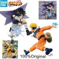 New Bandai Anime Original Banpresto Teenager Naruto Sasuke Figure Vibration Stars Uzumaki Figurine Action Model Collection Toys
