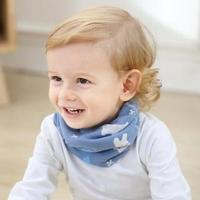 【童話飾界】親子款薄料-百搭套頭圍巾兒童圍脖-脖套口罩帽子頭巾(北極熊)