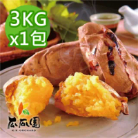 【瓜瓜園】冰烤番薯3kgx1包(台農57號地瓜)