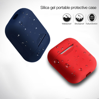 Colorful Soft TPU Silicone cover protection case For airpod