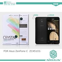 強尼拍賣~ NILLKIN Asus ZenFone C ZC451CG 超清防指紋抗油汙保護貼(含鏡頭貼套裝版)