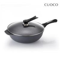 【義大利CUOCO】大寶T3系列鈦晶岩炒鍋34cm(附蓋)