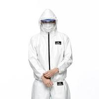 【HAKERS 哈克士】通過P1/L1檢驗 連帽防護夾克 防護衣 非醫療用(男女同款 S-XXL)