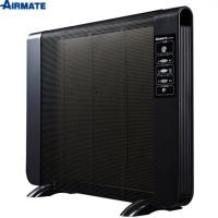 【AIRMATE艾美特】24hr-遙控電膜式電暖器AHY81003R(自然對流發熱面積廣泛)