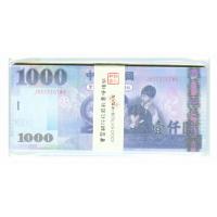 【文具通】Gee Jump EFFORT 巨匠 1000元 x30張 單面假鈔票便條 玩具鈔票 1323-4 F5010407
