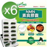 【湧鵬生技】高濃度NMN素食膠囊6入組(NMN:藻精蛋白:每盒30顆:共180顆)