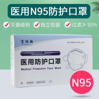 獨立包裝 醫用n95防護口罩醫療級別醫護專用醫生用防病菌KN95口罩